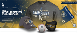 Dodgers World Series Merch a Hit With Fans