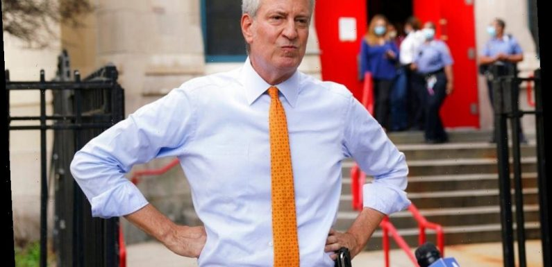 Bill de Blasio excluded from Columbus Day festivities