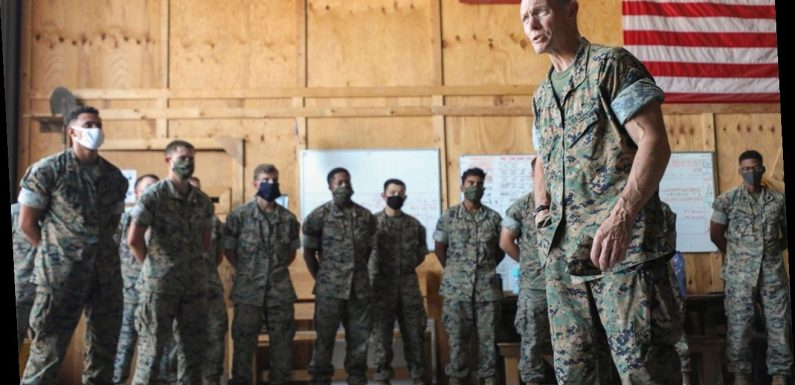 Marine general relieved of command after allegedly using racial slur