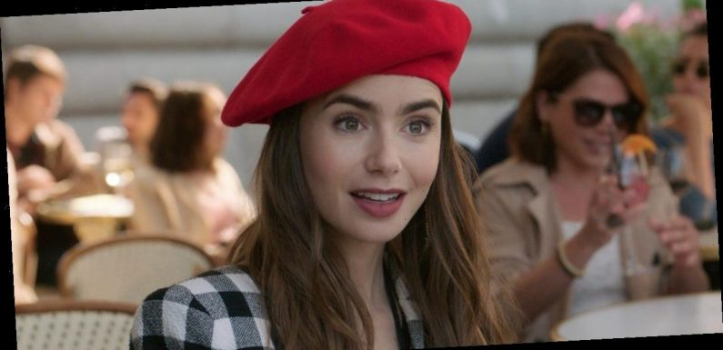Lily Collins says feeling like a 'fish out of water' after moving from the UK helped her relate to 'Emily in Paris'
