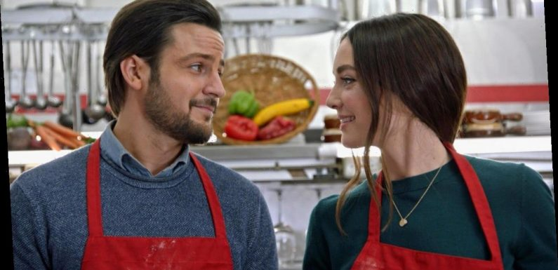 First Look: Hallmark's Holiday Rom-Com 'On the 12th Date of Christmas'