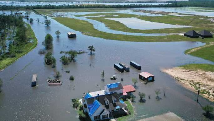 In photos: Louisiana reels from storm Delta as Southeast faces tornado and flooding threat