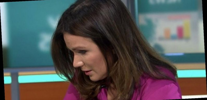 Susanna Reid breaks down in tears as mother is forced apart from autistic son