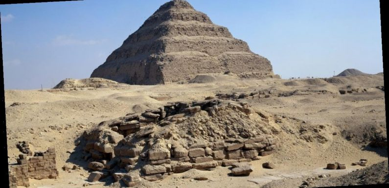 Long-lost pharaoh's mummy 'saved from crumbling 5000-year-old pyramid'