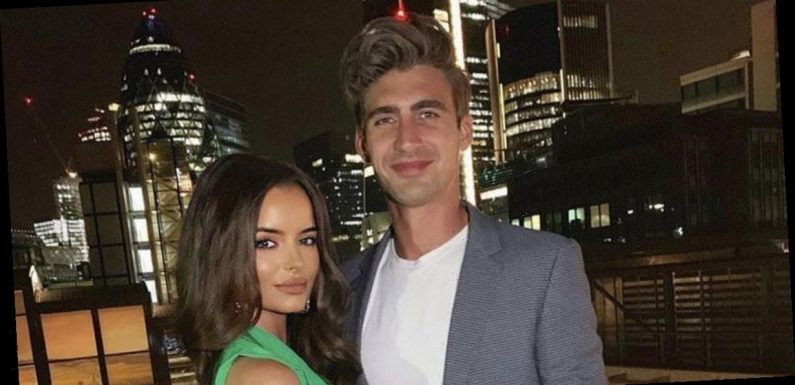Love Island Maura Higgins and Chris Taylor filmed leaning in for kiss on camera