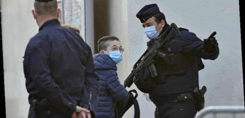 French police quiz child apologists of teacher's beheading