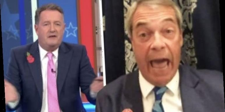 Piers Morgan and Nigel Farage clash over Trump's coronavirus handling 'Utter rubbish!