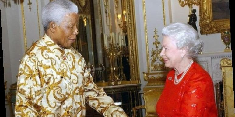 Queen stunned after Nelson Mandela said: 'Oh Elizabeth, you've lost weight'