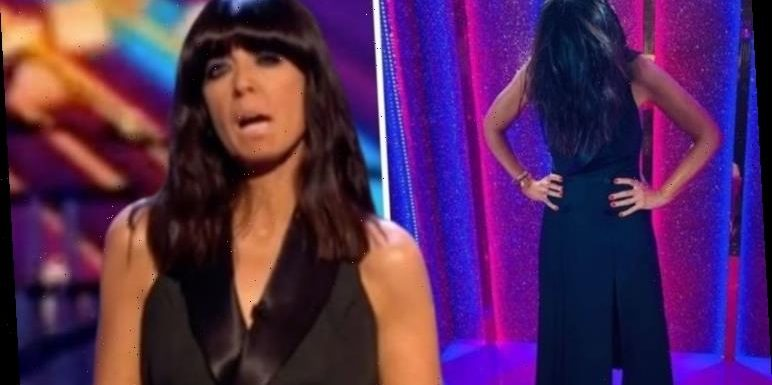 Claudia Winkleman dons limited edition Zara dress but leaves fans 'confused' over her hair