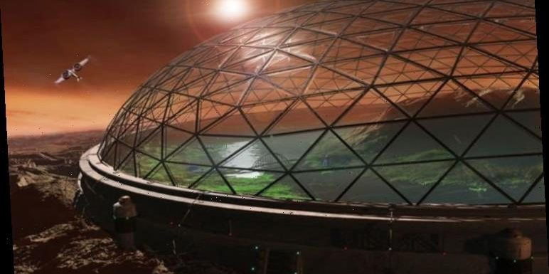 Elon Musk states first Mars settlers will have to live in glass domes