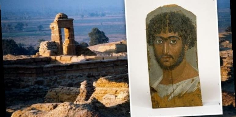 Ancient egypt: Secrets of mummy's portrait exposed under microscope after 1,800 years