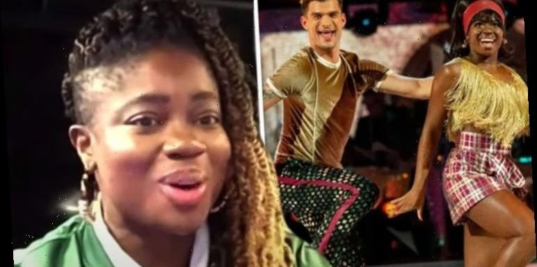 Clara Amfo exposes Aljaz's strict' training method as he admits to 'scary weekend' on show