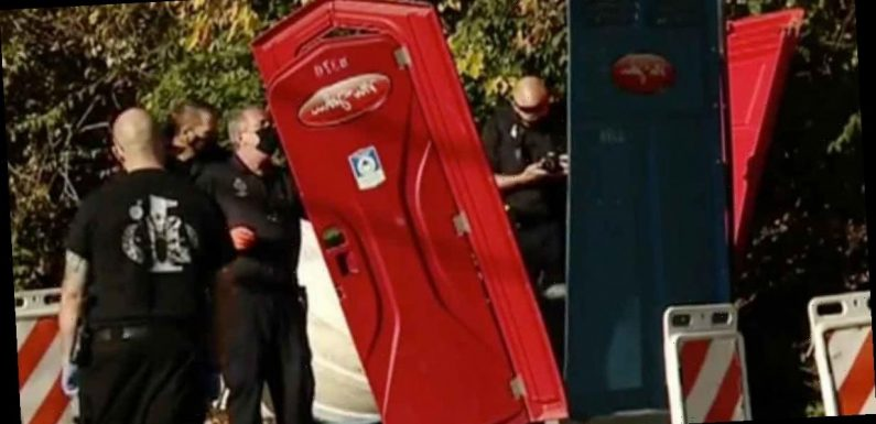 Loo bomber destroying portable toilets across US city in bizarre crime wave