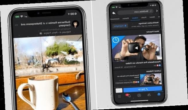 Facebook rolls out testing for Dark Mode for its iOS and Android apps