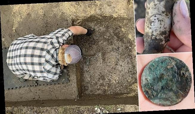 Slave quarters dating 300 years are found at a Maryland plantation