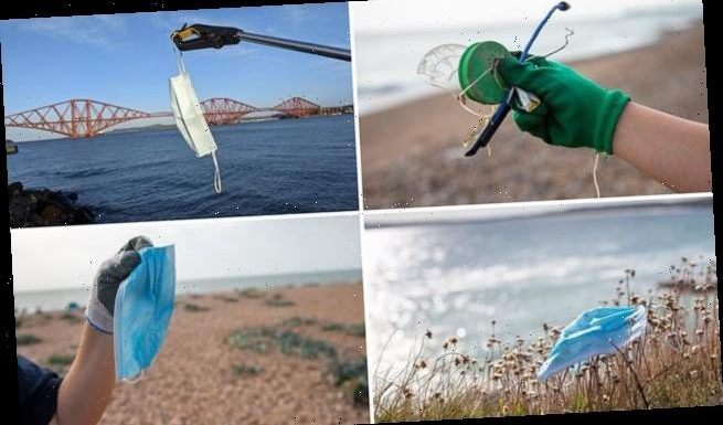 Face masks and plastic gloves found littering 30 per cent of beaches