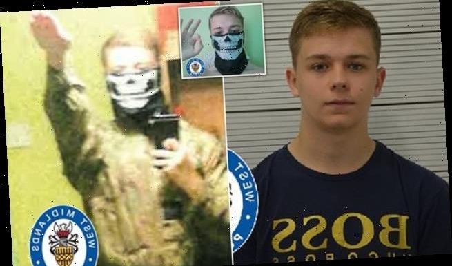 Far-Right firearms fanatic, 17, is jailed for nearly six years