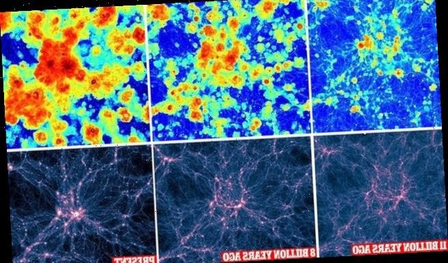 Heat maps of the universe reveal cosmic gases is getting hotter