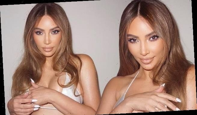 Kim Kardashian sends pulses racing with steamy behind-the-scenes snaps