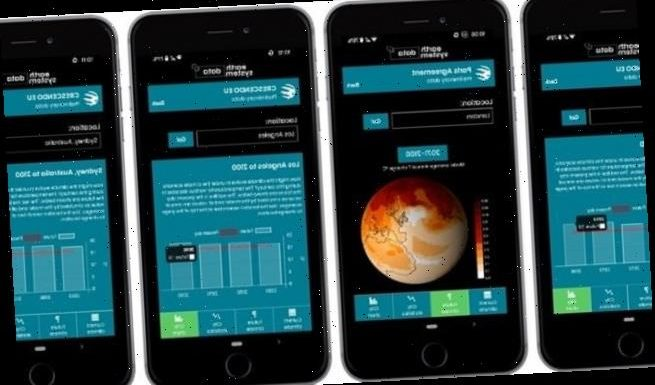 New app reveals how climate change with transform the world in 2100