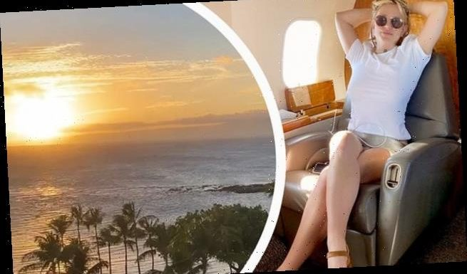 Britney Spears jets off  for tropical getaway ahead of 39th birthday