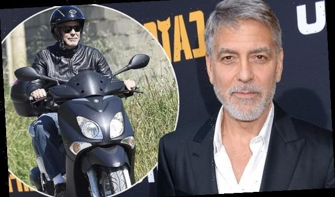 George Clooney thought he'd never see his kids after bike accident
