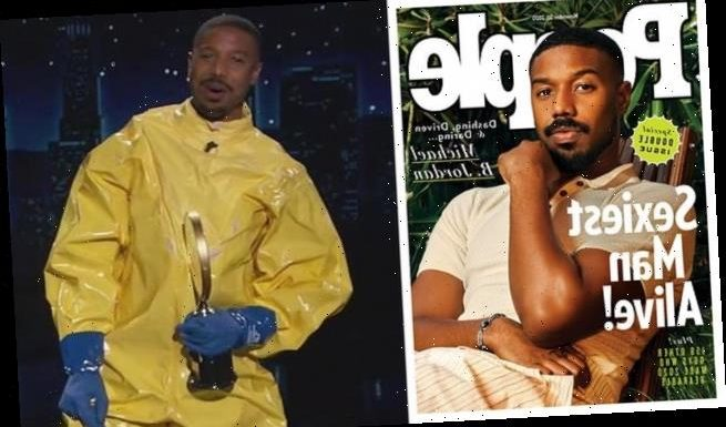 Michael B. Jordan reveals himself as Sexiest Man Alive 2020