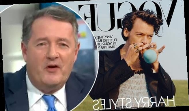 Piers Morgan brands Harry Styles wearing a dress in Vogue 'weird'
