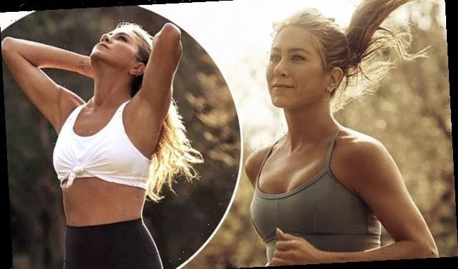 Jennifer Aniston, 51, shows off her jaw-dropping physique