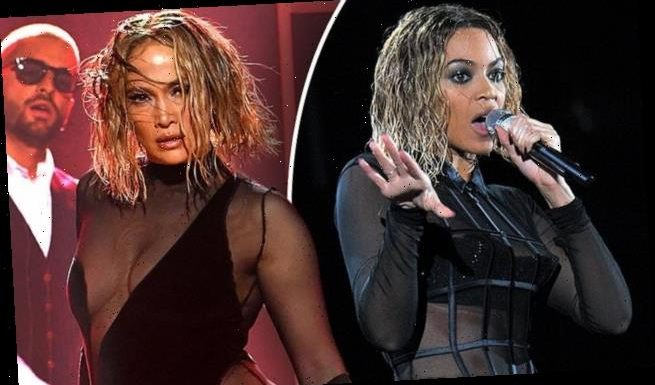 Jennifer Lopez accused of stealing Beyonce's Grammy performance