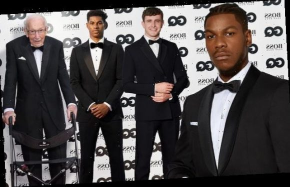 GQ Men Of The Year Awards 2020 virtual ceremony red carpet arrivals