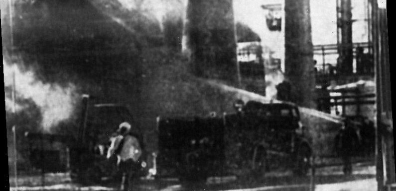 From the Archives, 1961: 80-foot high flash fire engulfs Geelong refinery