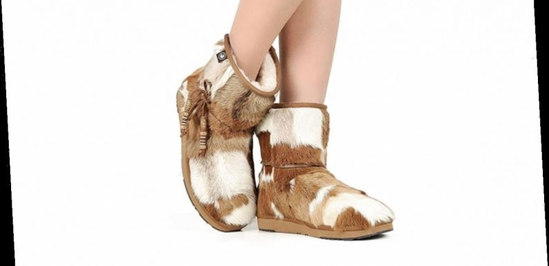 Amazon Black Friday Week Deal: Shearling Snow Boots That Are So Unique