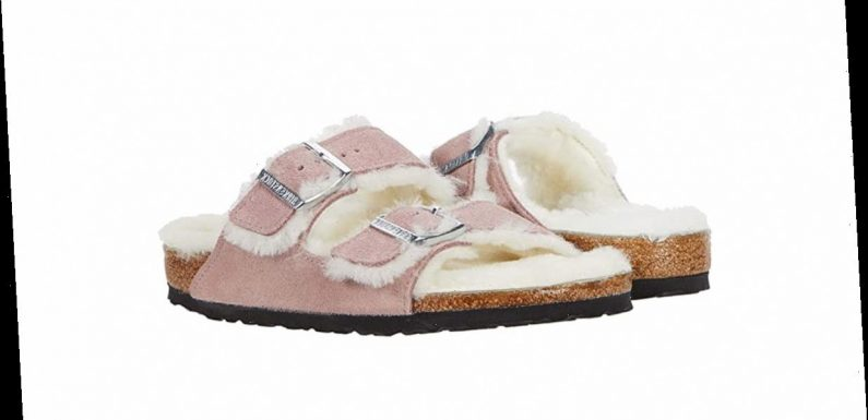 These Cozy Shearling-Lined Birkenstocks May Be Their Comfiest Sandals Ever