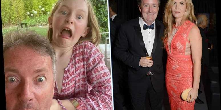 Piers Morgan's wife says they plan to throw 'the mother of all post-pandemic parties' in the summer after intimate Xmas