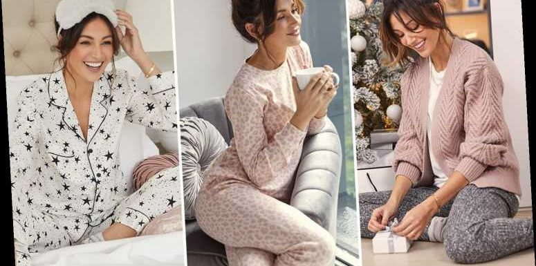 Michelle Keegan looks incredible as she models new loungewear collection