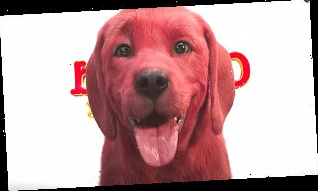 'Clifford The Big Red Dog' Fans Defend 1st Look At Live Action Movie After Haters Think Pup Looks 'Weird'