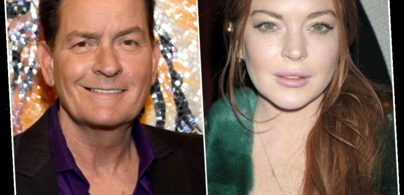 Why Lindsay Lohan Reportedly Refused to Kiss Charlie Sheen in 'Scary Movie 5'