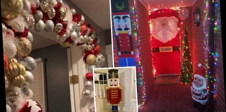 How DIY fans are decorating their homes for Christmas on a budget – from cardboard gonks to wire garlands