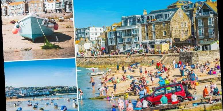 Scenic St Ives in Cornwall voted Britain's No.1 in happiest place to live Top 20 as demand for homes soars