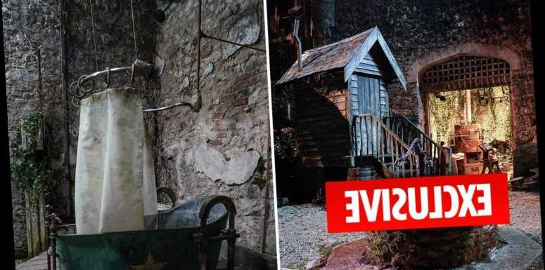 First look inside I'm A Celebrity's haunted Gwrych Castle as The Sun goes behind the scenes in Wales