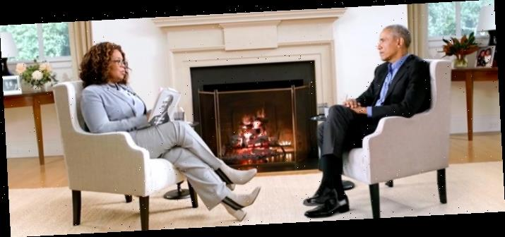 Watch: Oprah Winfrey Interviews Barack Obama During the Pandemic Using Incredible Green Screen Technology