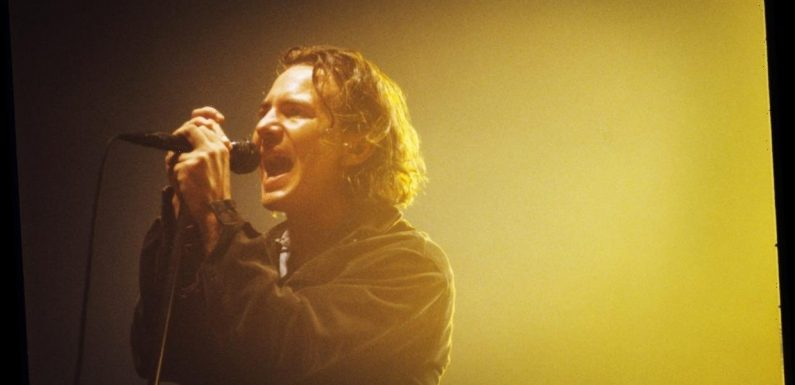 Eddie Vedder Says He Had 2 Reasons for Climbing the Rafters During Early Pearl Jam Shows