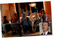 'Hypocrite' Gov. Newsom pictured dining at restaurant with 11 maskless friends – breaking his OWN Covid rules