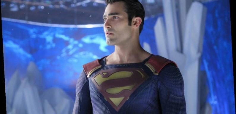 'Superman and Lois' Star Tyler Hoechlin Reacts to His New Superman Suit