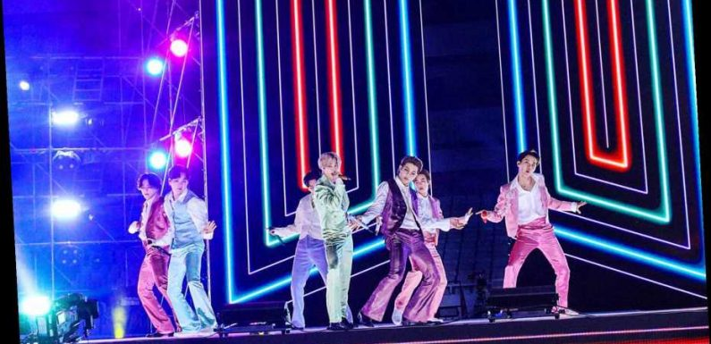 BTS Close Down 2020 AMAs With 'Life Goes On,' 'Dynamite'