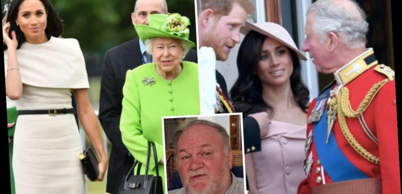 Queen, Charles & William dragged into Meghan Markle's privacy case as she admits speaking to senior Royals about her dad