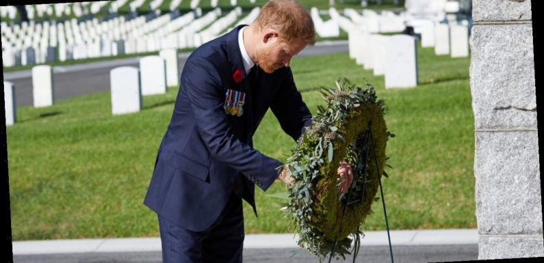 The Palace's Denial of Prince Harry's Remembrance Day Wreath Was Quite Petty