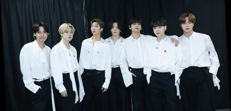 BTS Light Up 2020 American Music Awards with Performance of 'Life Goes On' and 'Dynamite'