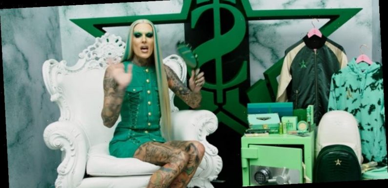 Jeffree Star Debuts 'Blood Money' Palette Amid Controversy